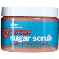 Blood Orange + White Pepper Sugar Scrub