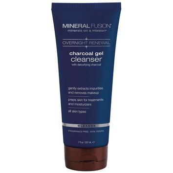 Mineral Fusion Cleanser, Charcoal Gel - 7 Fz