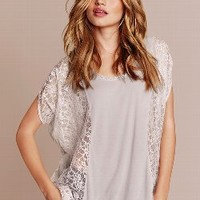 Lace Panel Top - Angel Tees - Victoria's Secret