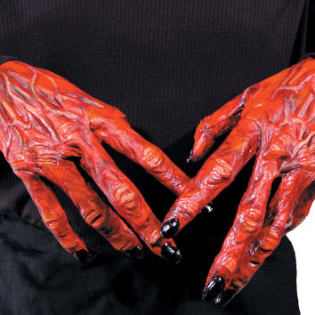 costume accessory: hands devil