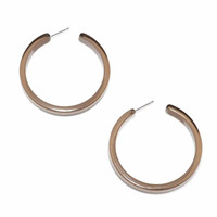ZENZII Resin Hoop Earring