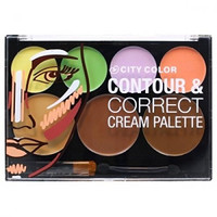 The Contour & Correct Cream Color Makeup Highlighting Cosmetic Palette