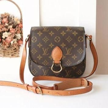 PEAPYD9 Louis Vuitton Bag St Cloud PM Monogram Authentic Vintage shoulder handbag Circa 94