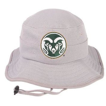 Licensed Colorado State Rams Official NCAA Coach Small Bucket Hat Cap by Zephyr 602096 KO_19_1