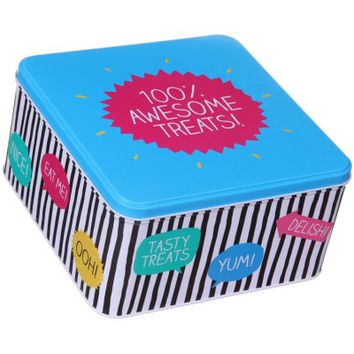 Happy Jackson 100% Awesome Treats Tin