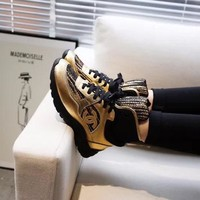 New Fashion Double C High Top Sneaker Reference #1171 - Beauty Ticks
