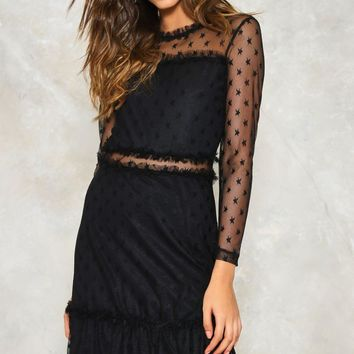 She's So Lucky Mesh Dress | Shop Clothes at Nasty Gal!
