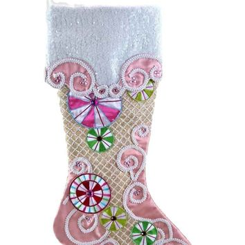 Katherine's Collection Sweet Christmas Stocking