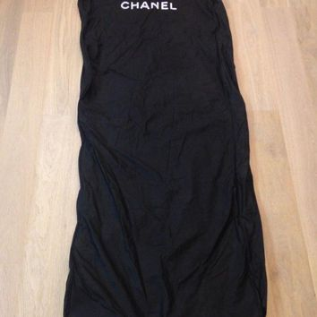 ONETOW CHANEL Black Garment Cover Bag 62'x24'x4'