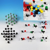 121Pcs/Set 3D DIY Chemical Molecule Model Puzzle Toy Kids Educational Learning Chemistry Structure Toys for Children /Teacher