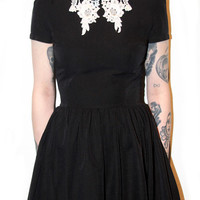 LACE COLLAR ROSELLE DRESSES