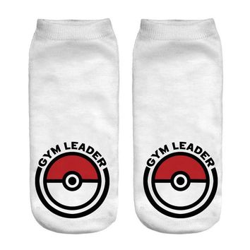 Cheaper Wholesale Pokemon Go Cartoon Anime Short Cute Sock Lady Girl Summer Funny New Women Socks 3D Print