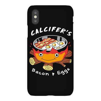 calcifer's bacon and eggs iPhoneX