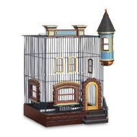 Featherstone Heights Brownstone Bird Cage 293