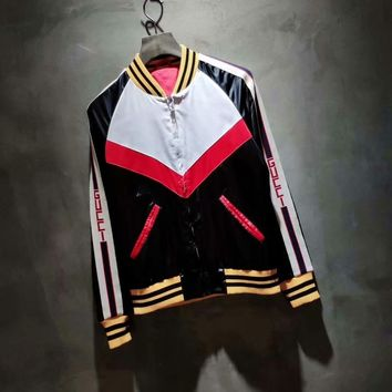 Gucci Gucci. 2018 early autumn when series. Casual Jacket Ribbon Coat 001