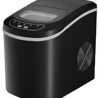Spt Portable Ice Maker, Black