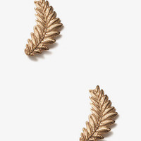 Etched Leaves Earring/Cuff | FOREVER 21 - 1000046617