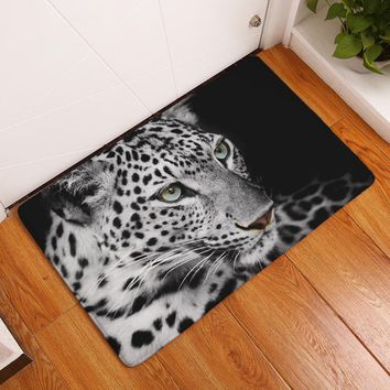 Autumn Fall welcome door mat doormat MDCT Animal Lion Cheetah Printed Outdoor Entrance Welcome Floor Mats Anti-slip 3D s Area Rugs and Carpet For Home Decor AT_76_7