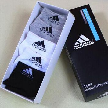 Adidas Woman Cotton Socks Sport Socks Stockings