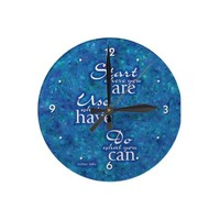 Start Where You Are. Wallclock