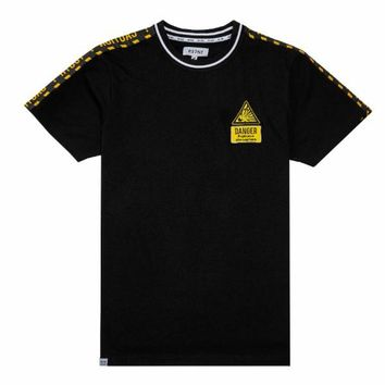 Caution Tape W/Danger Patch Tee
