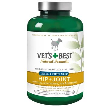 Vet's Best Level 1 First Step Hip and Joint