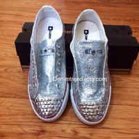 Glitter Converse Shoes