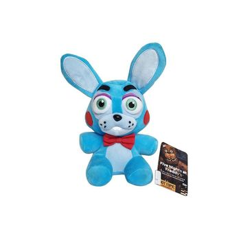 New 18cm   at Freddy 4 Nightmare Bonnie Rabbit Stuffed Plush Toys Soft Animals Toy Doll Gifts for Children Kids