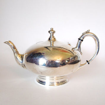 Antique James Dixon & Sons Silver Plated EPBM Teapot - Sheffield - England - Late 1800's to early 1900's