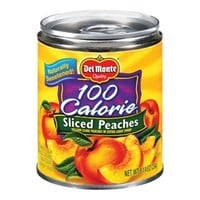 Del Monte 100 Calorie Yellow Cling Sliced Peaches in Extra Light Syrup 25-oz.