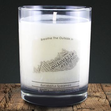 Kentucky | 100% soy wax & essential oil candle | Classic Tumbler | 14oz.