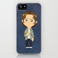 A Little Supernatural Goldenbook iPhone & iPod Case by Ravenno
