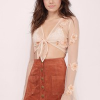 Young and Beautiful Crop Top