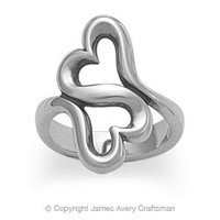 Heart to Heart Ring from James Avery