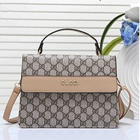 Gucci Women Shopping Bag Leather Satchel Crossbody Handbag Shoulder Bag