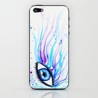 Iridescent Eye iPhone & iPod Skin by Susaleena