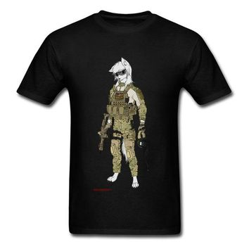 Anime T-Shirt cosplay Amazing T-Shirt Men 2018 Low Price Wolf Furry Soldier Legion T Shirt Funny Anime Fan Tee Shirts Spring Streetwear Outfit AT_57_4