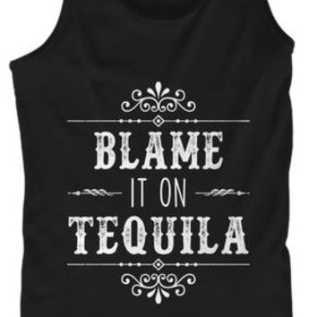 Blame It On Tequila Agave Drinking Tank Top