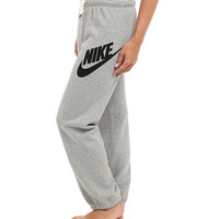 Nike Rally Signal Pant Dark Grey Heather/Black - 6pm.com
