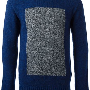 Oliver Spencer intarsia knit sweater