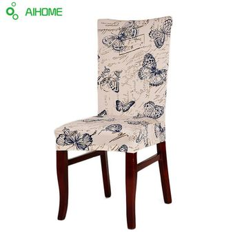 Chair Cover Home Decoration Suitable for Home Office Hotel Fashionable Printed Polyester Fiber Chairs Case Covers