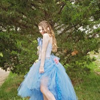 """Cadence"" Tutu skirt and corset-bridal-prom-Quinceanera-photoprop"