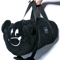 Lazy Oaf Barrel Bear Carry All Bag Black One