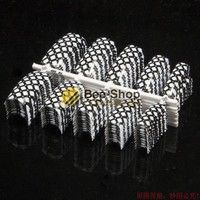 100PCS Beauty Acrylic False Nail Tips White and Black Suqare Grid Design False Gel Nail art French Nail Art Tips Manicure NEW