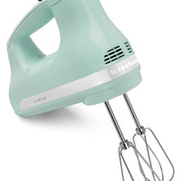 Kitchenaid 5-Speed Slide Control Ultra Power Hand Mixer - Ice Blue KHM512IC