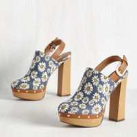 As Far Out as It Goes Heel | Mod Retro Vintage Heels | ModCloth.com