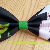 Wicked The Musical Inspired Hair Bow OR Bow Tie