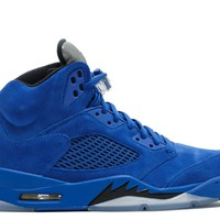 "AIR JORDAN 5 RETRO ""BLUE SUEDE""BASKETBALL SNEAKER"