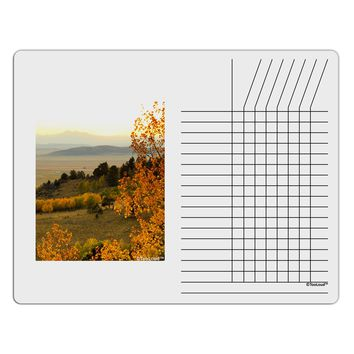 Nature Photography - Gentle Sunrise Chore List Grid Dry Erase Board by TooLoud