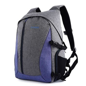 DCCKFS2 Waterproof Digital DSLR Photo Padded Backpack Multi-functional Camera Bag for Outdoor Traveling 3 Colors